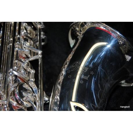 Garry Paul tenor saxophone, silvered