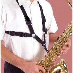Szaxofon nyakbavaló, hám