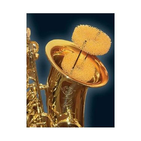 Saxophone mute