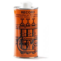 Record cleaner for lacquered instruments