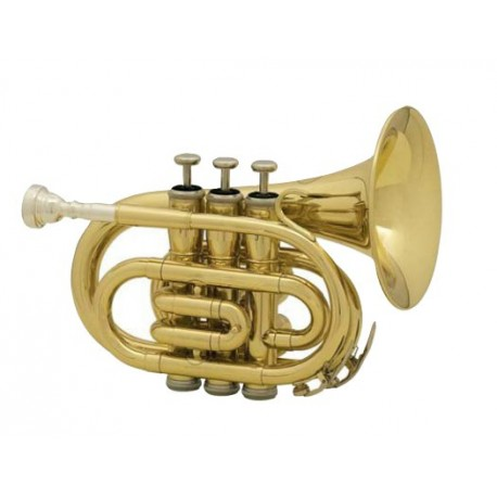 MTP T-210 Bb pocket trumpet